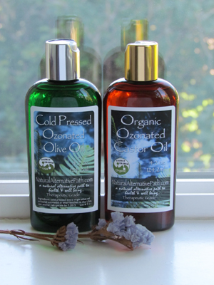 Oragnic Ozonated Castor Oil - Edgar Cayce formulation
