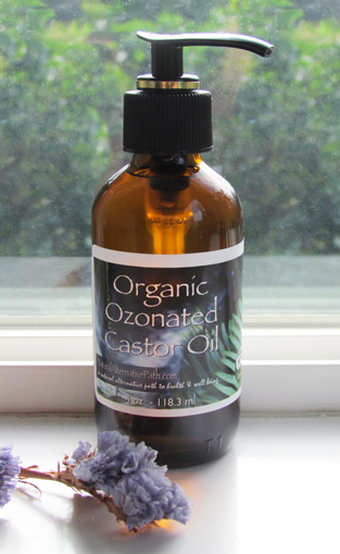 Organic Ozonated Castor Oil Gold Formula